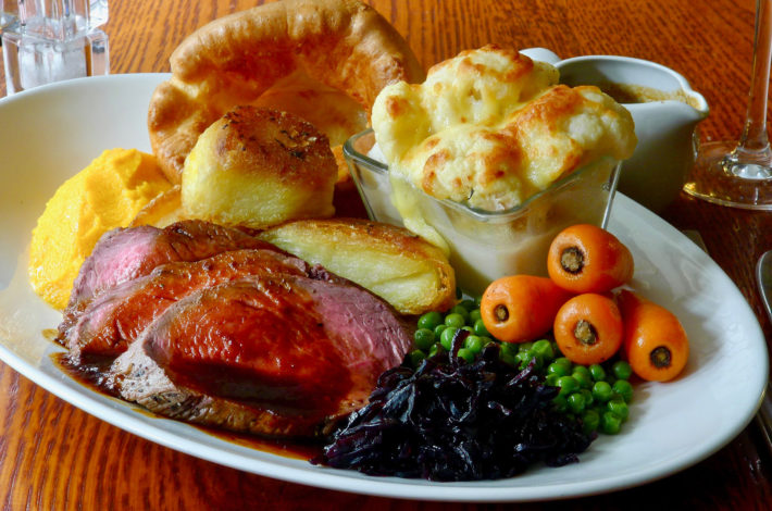 Now serving Sunday Lunch…